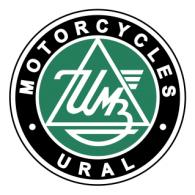 Motorcycles Ural logo vector logo