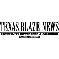 Texas Blaze News logo vector logo