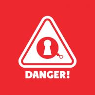 Danger! logo vector logo