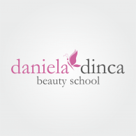 Daniela DInca Beauty School logo vector logo