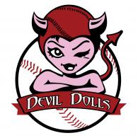 Ben Luna Montclair Fast Pitch League Devil Dolls logo vector logo