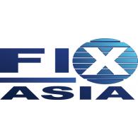 Fix Asia logo vector logo