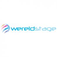 Wereldstage logo vector logo
