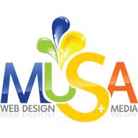 MUSA Web Design   Media logo vector logo