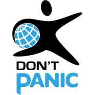 Don't Panic logo vector logo