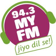 94.3 My FM logo vector logo