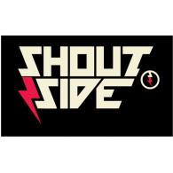 Shoutside logo vector logo