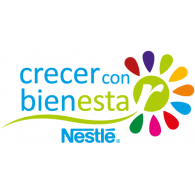 Crecer con Bienestar Nestle logo vector logo