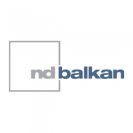 ND Balkan logo vector logo
