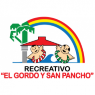 "Recreativo ""El Gordo y San Pancho"" logo vector logo"