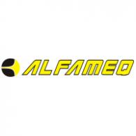 Alfameq logo vector logo