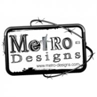 Metro-Designs logo vector logo