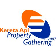 Kereta Api Property Gathering 2007 logo vector logo