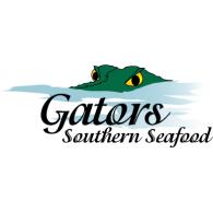Gator's Southern Seafood logo vector logo