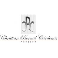 Christian Bernal Cardenas Abogado logo vector logo