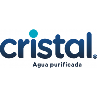 Cristal Agua Purificada logo vector logo