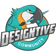 Designtive logo vector logo
