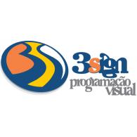 3sign logo vector logo