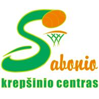 Sabonio krepšinio centras logo vector logo