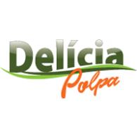 Delícia Polpa logo vector logo