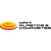 Maini Plastics & Composites logo vector logo
