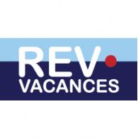 REV vacances logo vector logo