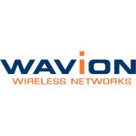 Wavion logo vector logo
