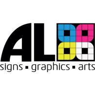 AL Signs logo vector logo