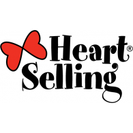 Heart Selling logo vector logo