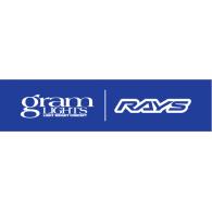 Gram Lights RAYS logo vector logo