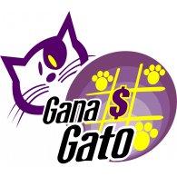 Gana Gato logo vector logo