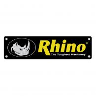 Rhino logo vector logo