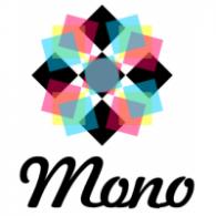 Mono comunicação logo vector logo