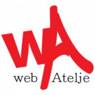 Web Atelje logo vector logo