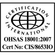 OHSAS logo vector logo