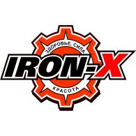 Iron-X logo vector logo