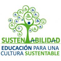 Sustentabilidad logo vector logo