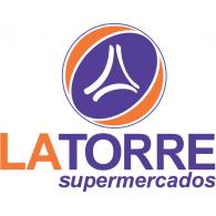 Supermercados La Torre logo vector logo