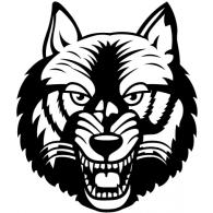 Wolf logo vector logo