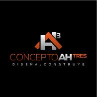 Concepto AH3 logo vector logo