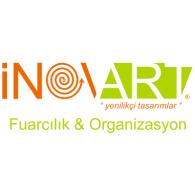 inovart fuarcılık logo vector logo