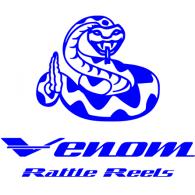 Venom Rattle Reels logo vector logo