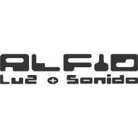 Alfio Luz y Sonido logo vector logo