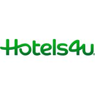 Hotels4U logo vector logo