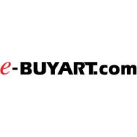 e-BUYART.com logo vector logo