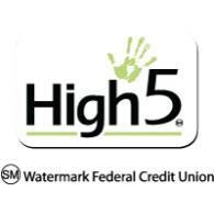 High 5 logo vector logo