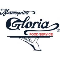Mantequilla Gloria Food Service logo vector logo