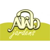 Arab Jardens logo vector logo