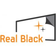 Real Black logo vector logo