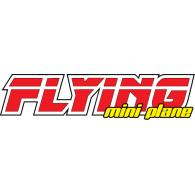 Flying Mini-Plane logo vector logo